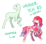 Weaver YCH (OPEN) by Kerlasia-Adopts