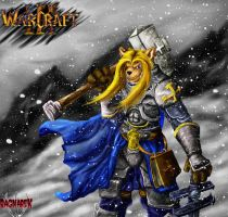 Arthas. Moring in Northrend by RagnareK