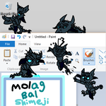 Molag Bal Shimeji by PoneBiscuit