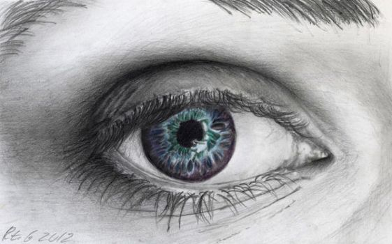 Joana's Eye by voodugirl