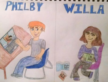 Philby and Willa (Kingdom Keepers #2) by Sparrow12592