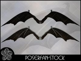 Demona Wings 003 by poserfan-stock