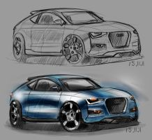 Audi A3 Rendering by MartinEDesign