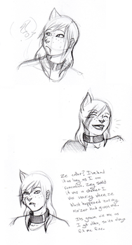 Laughs and collars by WhenWolvesCryOut