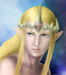 Royals of Hyrule: The Queen by Windowtothesoulepic