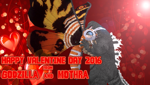 Valentine's Day Special - Kaiju Love by KingAsylus91
