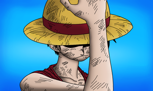 Luffy by LegendaryRey