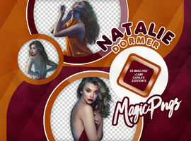PACK PNG 733  NATALIE DORMER by MAGIC-PNGS