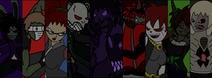 The Crimson Society Fighters -Set 1- by TheSpiderManager