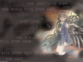 Last Love Song - Saikano Wall by DravenMade