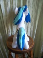 Vinyl Scratch Done ~ Rear view by WhiteAntCrawls