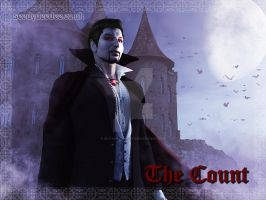 The Count - Vampire Personality Test by 3D-Fantasy-Art