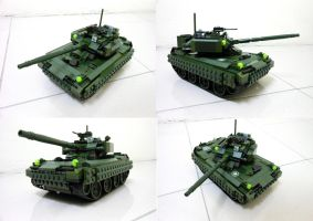 Lego Compact Tank 1.1 by SOS101