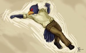 Dapper Falco by PartyMosquito