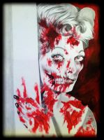 Zombie Lucille Ball by SarahEleanor
