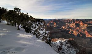 Canyon Snow by yungstar