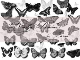 Butterfly Brushes Set 2 by Lavica-Photoshop