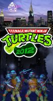 TMNT 2012 by retrotaku89