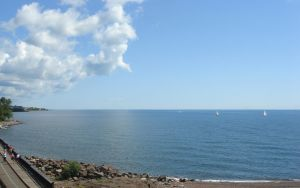 along lake superior in duluth by jimmyselix