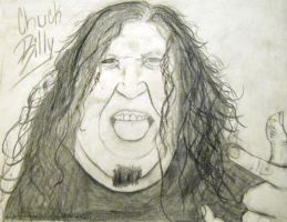 Chuck Billy Lead Singer of Testament by RottingBeefCarcasses