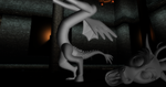 MMD Poseable Discord Statue + DL by Valforwing