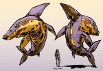 Asphault Sharks by zsabreuser