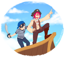 Pirates RinHaru by SorceressDream