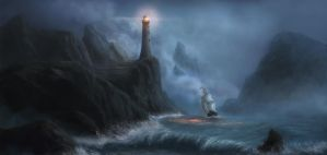lighthouse by Reinmar84