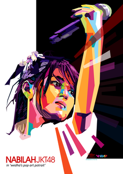 Nabilah JKT48 in WPAP by setobuje