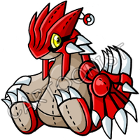 Pokemon- Groudon Plushie