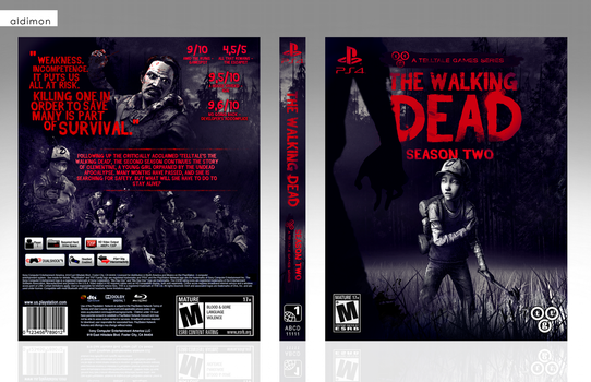The Walking Dead: Season Two (Telltale) by aldimon