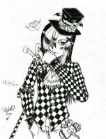 The Evil Mad-Hatter by UmiMizuno