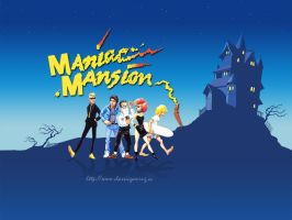 Maniac Mansion Cover Redub by GillianSeed