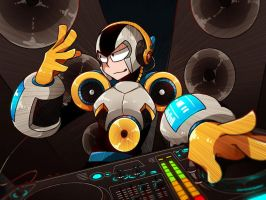 mmOC: Sound man by c0ralus