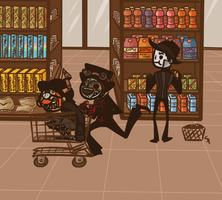 Grocery Store Shenanigans by AgentSpax