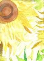 My Van Gough  Sunflower by xxDemonicxGaoxx