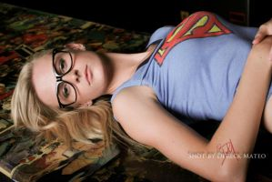 Nerd glasses and supershirt by CoralMae