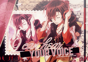 [Banner #2] I can hear your voice by sandrareina