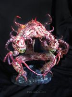 Demon Sculpture 5 by NadilynBeato
