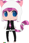 Momoiro Neko ..::MyAdopts::.. by BlueberryBubblegumXD