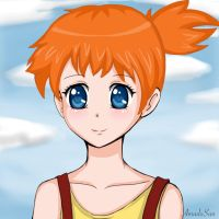 misty pokemon by veronica1134