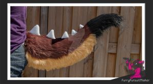 Large dragon tail - Kiddo by FurryFursuitMaker