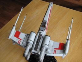 X-Wing weathered by Defibulator