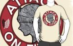 Attack on Titan T-Shirt by SpazztasticFanGirl