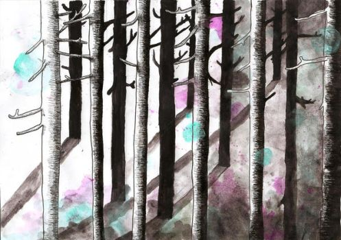 Woodland by nifty-ness