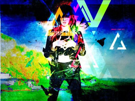 Miss A Jia Abstract Style by YuiiNao