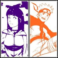 Naruto and Hinata by DarkMagicianQueen