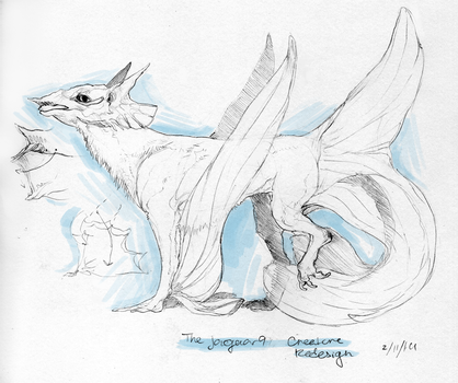 Sea dog - Creature redesign CO by Whip-o-will