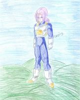 Trunks in spandex standing by valdrianth