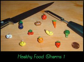 Healthy Food Charms 1 by YellerCrakka